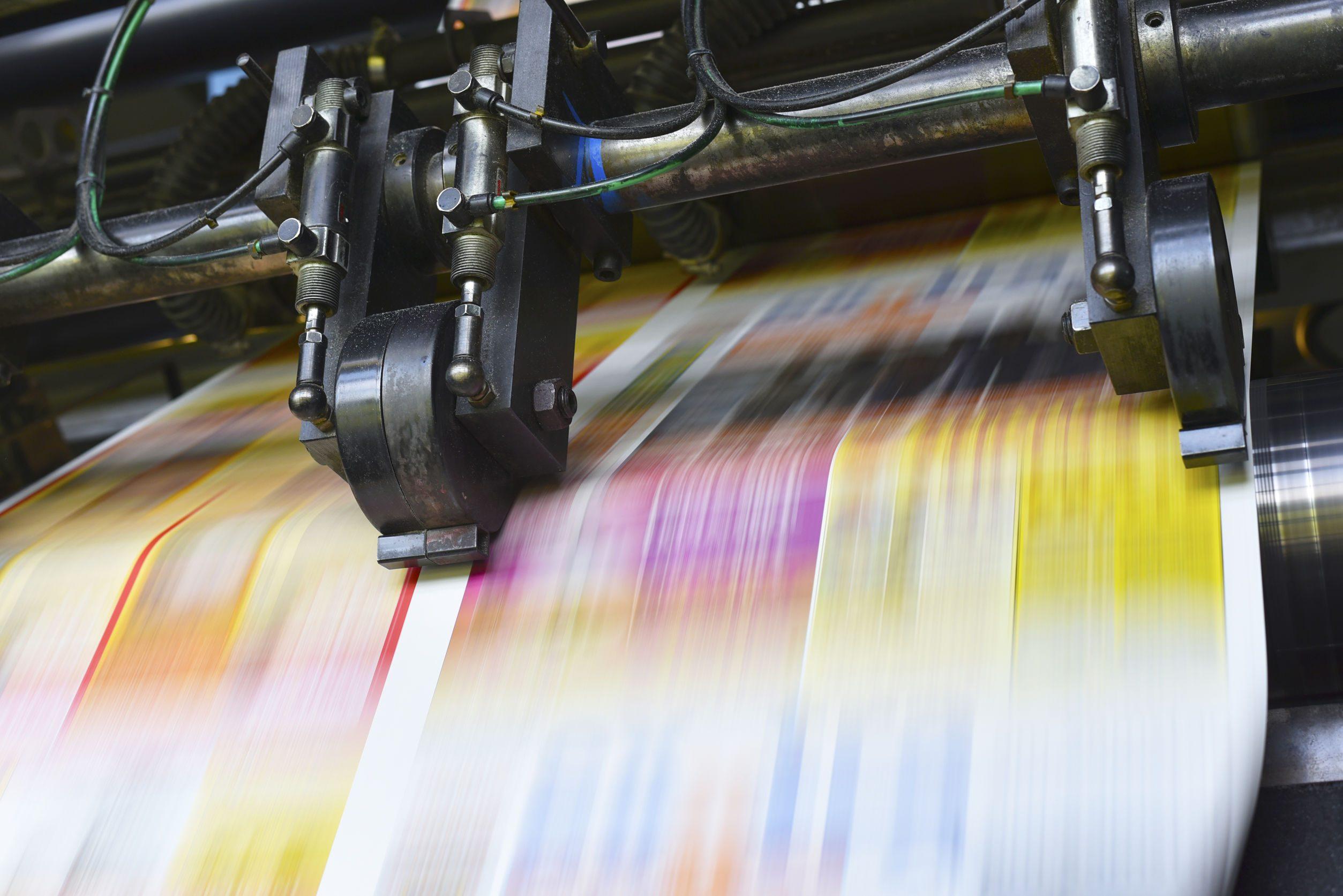 Large capacity printing