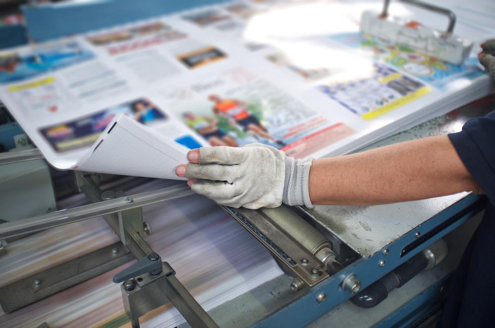 magazine printing production process